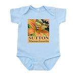 Sutton Massachusetts Butterfly Infant Bodysuit