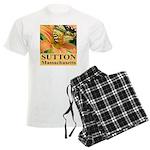 Sutton Massachusetts Butterfly Men's Light Pajamas