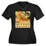Sutton Massachusetts Butterfly Women's Plus Size V