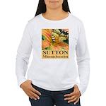 Sutton Massachusetts Butterfly Women's Long Sleeve