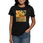 Sutton Massachusetts Butterfly Women's Dark T-Shir