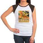 Sutton Massachusetts Butterfly Women's Cap Sleeve