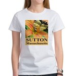 Sutton Massachusetts Butterfly Women's T-Shirt