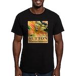 Sutton Massachusetts Butterfly Men's Fitted T-Shir