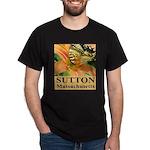 Sutton Massachusetts Butterfly Dark T-Shirt