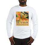 Sutton Massachusetts Butterfly Long Sleeve T-Shirt