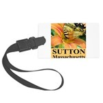 Sutton Massachusetts Butterfly Large Luggage Tag