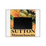 Sutton Massachusetts Butterfly Picture Frame