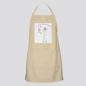 Silly boys, bows are for girls Apron