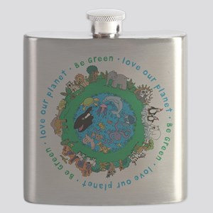 BEGREENLUV Flask
