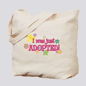 JUSTADOPTED44.png Tote Bag