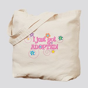 JUSTADOPTED33.png Tote Bag