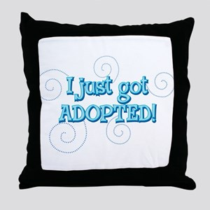 JUSTADOPTED22 Throw Pillow