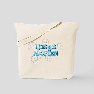 JUSTADOPTED22.png Tote Bag
