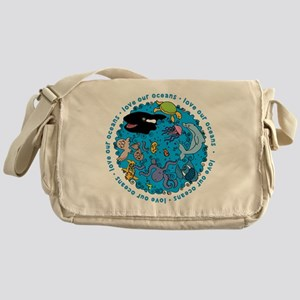 LUVROCEANS Messenger Bag