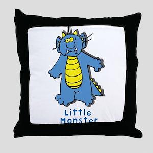 LittleMonster2 Throw Pillow