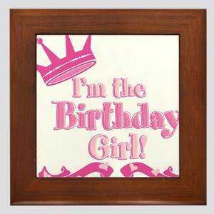 Birthday Girl 2 Framed Tile