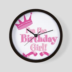 Birthday Girl 2 Wall Clock