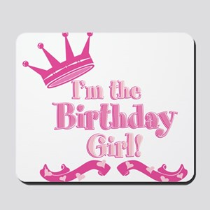 Birthday Girl 2 Mousepad