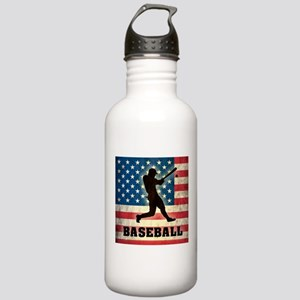 Grunge USA Baseball Stainless Water Bottle 1.0L