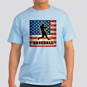 Grunge USA Baseball Light T-Shirt