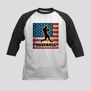 Grunge USA Baseball Kids Baseball Jersey