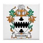 Newcombe Coat of Arms Tile Coaster