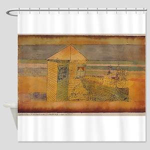 paul klee Shower Curtain