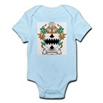 Newcombe Coat of Arms Infant Creeper