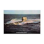 USS GEORGE BANCROFT Mini Poster Print