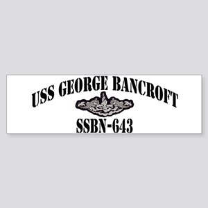 USS GEORGE BANCROFT Sticker (Bumper)