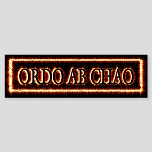 Order Out of Chaos Sticker (Bumper)