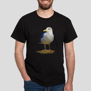 Sea Gull Has His Eye on You Dark T-Shirt