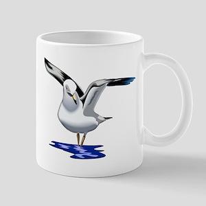 Seagull Liftoff Mug