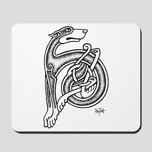 Celtic Sighthound Mousepad