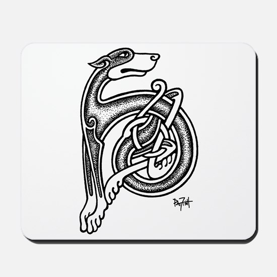 Celtic Sighthound Mousepad
