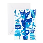 Read Know Grow TECH Greeting Cards