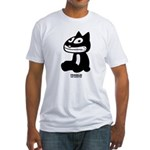 Seated Franklin Fitted T-Shirt