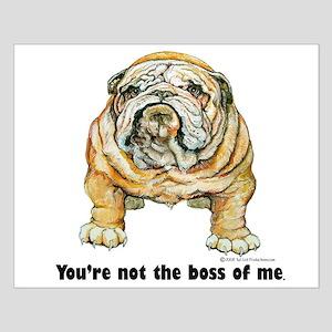 Bulldog Boss Small Poster