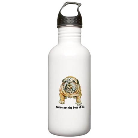 Bulldog Boss Stainless Water Bottle 1.0L