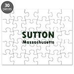 Sutton Massachusetts Sans Serif Puzzle