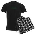 Sutton Massachusetts Sans Serif Men's Dark Pajamas