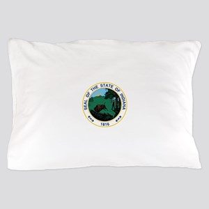 Indiana State Seal Pillow Case