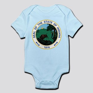 Indiana State Seal Infant Bodysuit