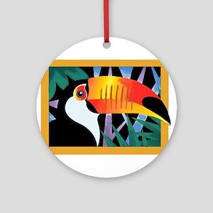 Toucan Tango Ornament (Round)