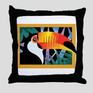 Toucan Tango Throw Pillow