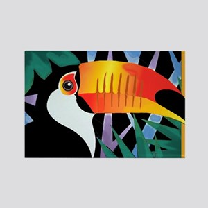 Toucan Tango Rectangle Magnet