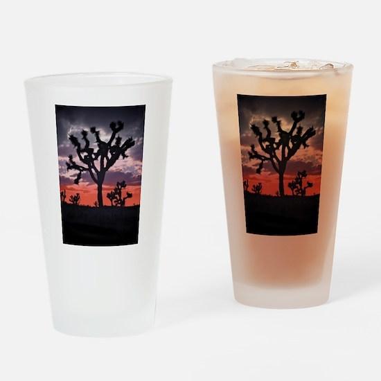 Joshua Tree Drinking Glass