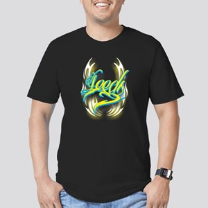 Leeds ink Men's Fitted T-Shirt (dark)