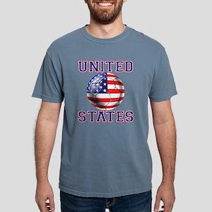 USA Soccer Mens Comfort Colors Shirt